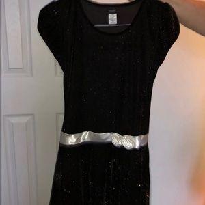 Other - Black shiny Holiday Dress